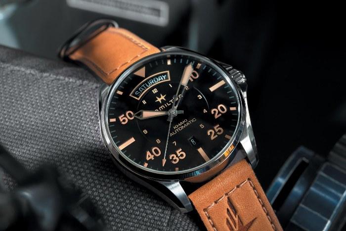 Во времена Второй мировой фирма производила часы для пехоты, флота и  авиации, а также взрыватели. В 1957-м инженеры Hamilton сделали разработку  под ... cf7af007c8e