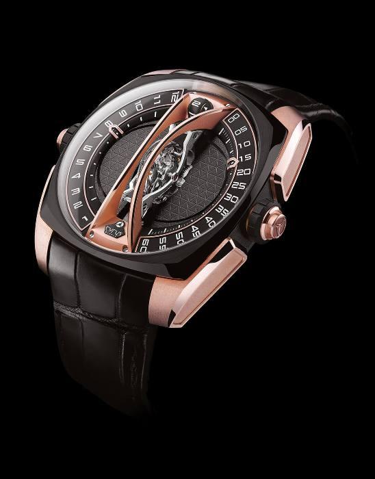 Уникальные часы с вертикальным турбийоном от марки Cyrus 8aedfa83ef9