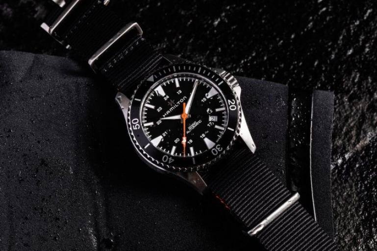 1fd5bf23 Стильные дайверские часы - совместная разработка Hamilton и Gear Patrol