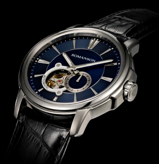 4b92da4ceb28 Самые популярные наручные часы Romanson – сверхтонкие. Рекорд производителя  – модель с толщиной корпуса 3,89 мм. Малая толщина является многолетней ...