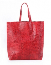 poolparty leather-city-croco-red