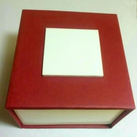 present box-with-pad-red