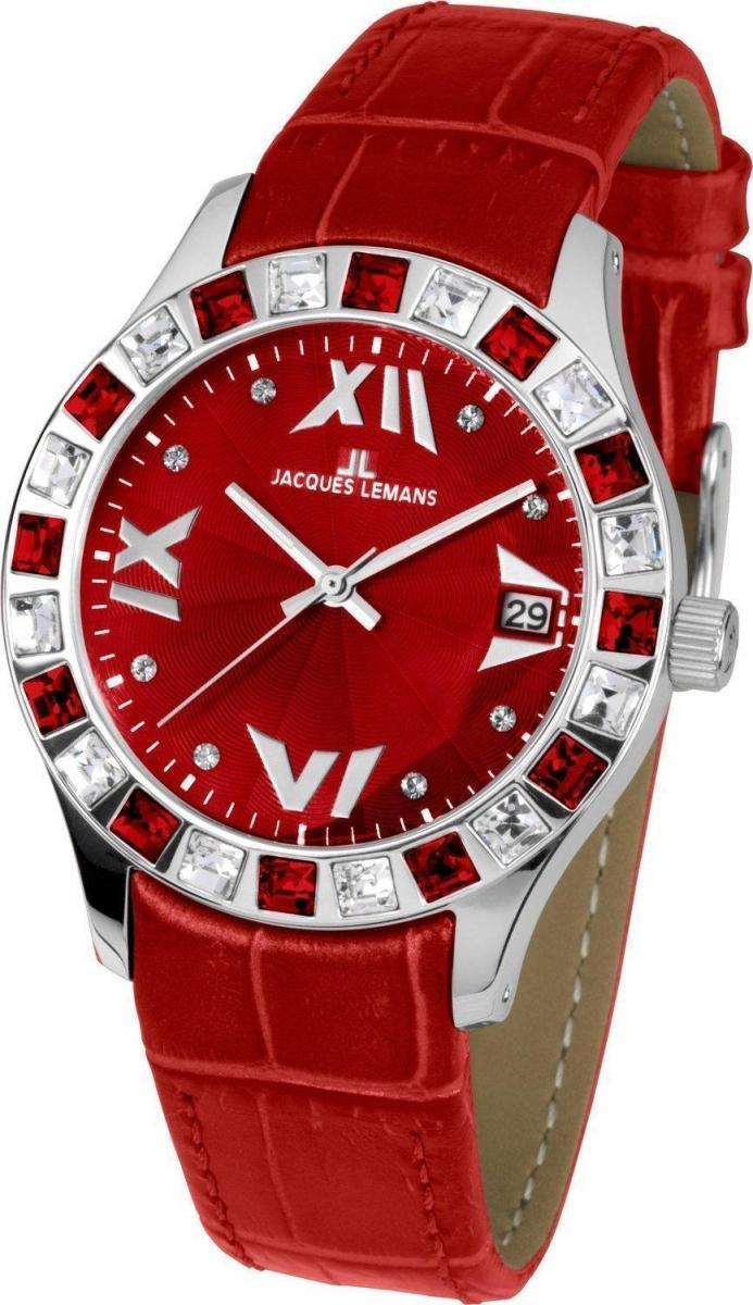 Часы Jacques Lemans 1-1571D - купить женские наручные часы. Цена на ... f6011347feb
