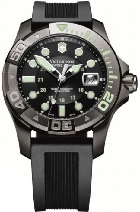 Часы темные мужские swiss army dive master 500