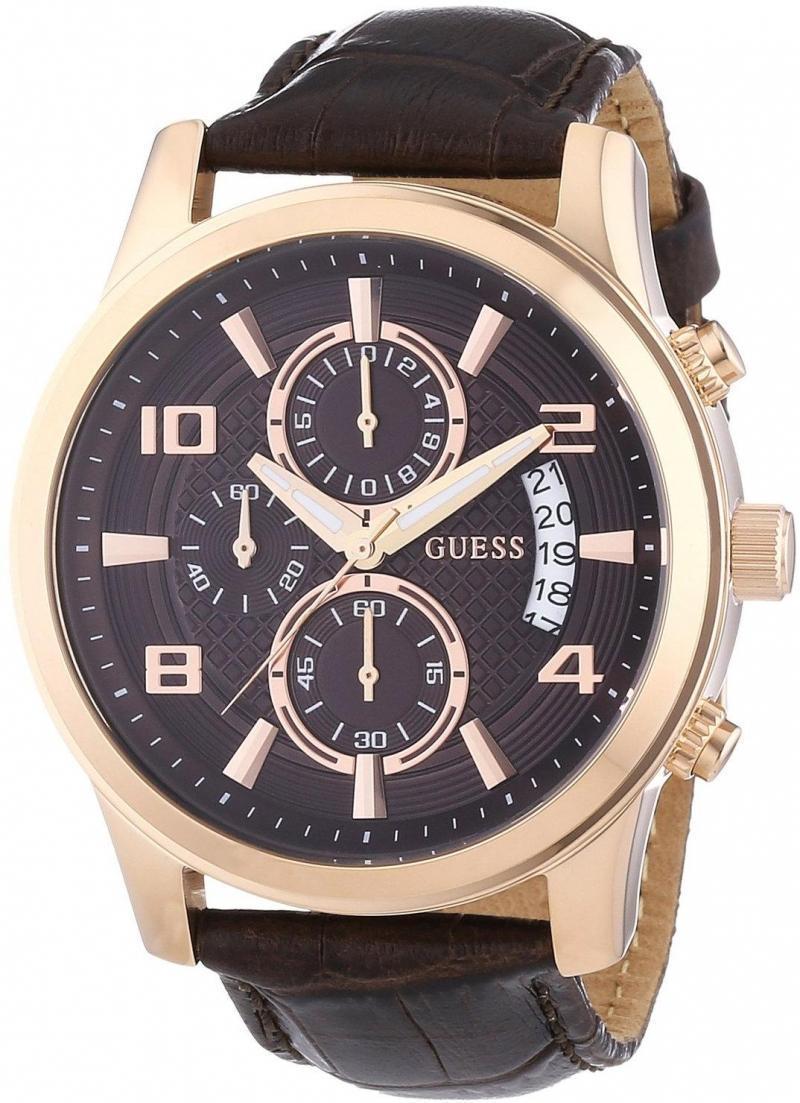 Купити чоловічий наручний годинник Guess W0076G4 a9b15583ee521