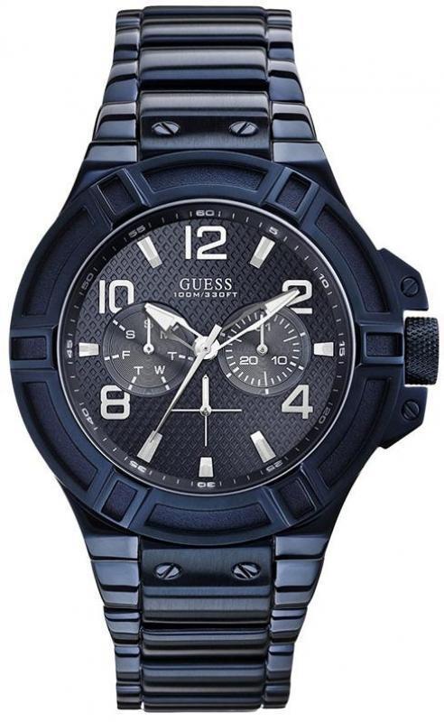 Купити чоловічий наручний годинник Guess W0218G4 543ff88850250