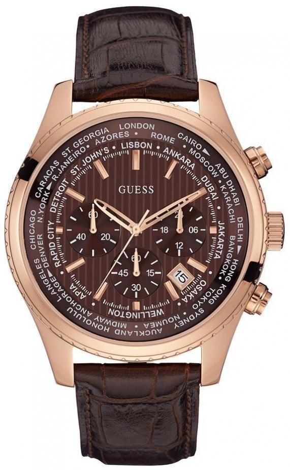 Купити чоловічий наручний годинник Guess W0500G3 9af47c2603ff4
