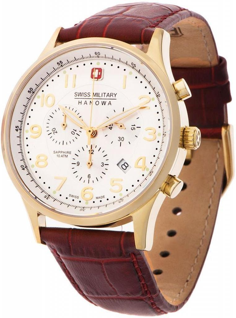 Мужские часы Swiss Military Hanowa 06-4187.02.001 Женские часы L Duchen D713.46.33