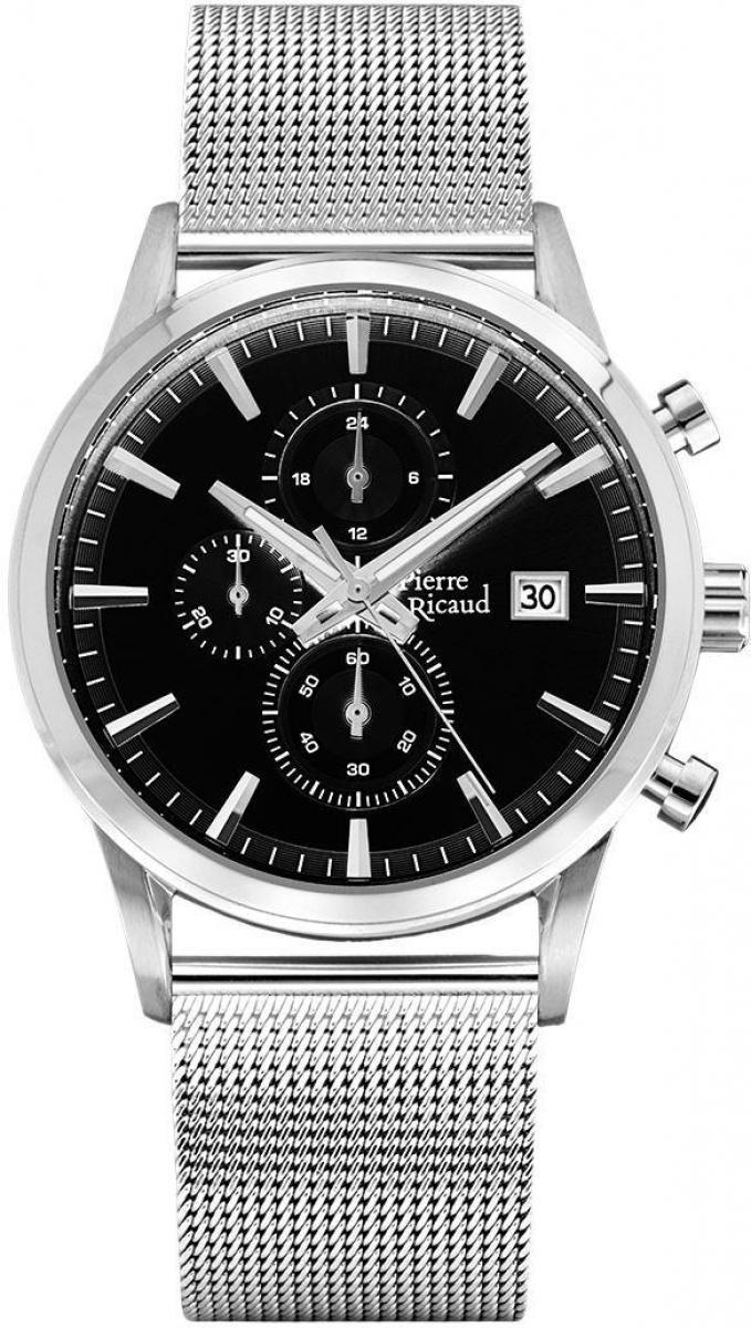 Часы Pierre Ricaud PR 97201 5116CH - купить мужские наручные часы ... 69e2a9b295dfa